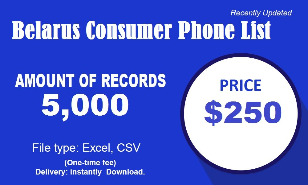 Belarus Cell Phone Number