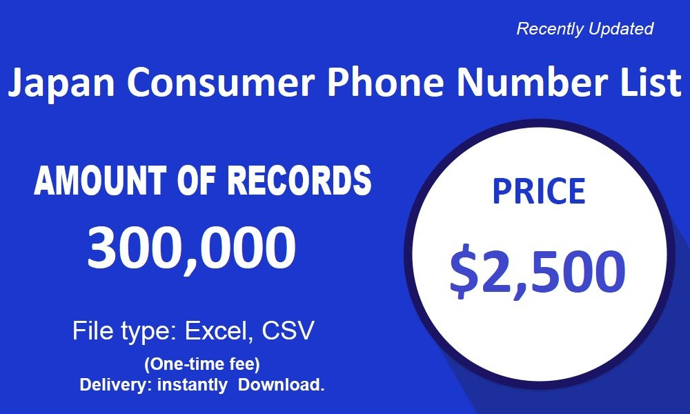 Japan Cell Phone Number